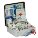 Mallory FAK16PBA Type III Bulk Class A Portable First Aid Kit, Wall Mount, 89 Bulk Packed Components, Weatherproof Plastic Case, 6-1/2 in H x 3 in W