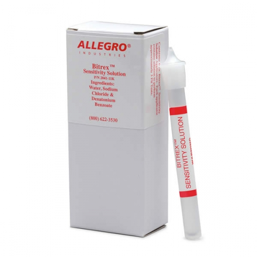 Allegro® 2041 Bitrex Fit Test Kit, Denatonium Benzoate, Bitrex Fit Test Protocol, For Disposable and Reusable Dust and Mist Respirators
