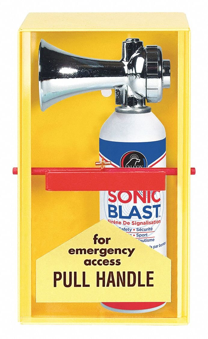 FALCON® FSB5R Sonic Blast Refill, For Use With FSB5CBU and FSB5BU Falcon Sonic Blast 5 oz Horn, 5 oz