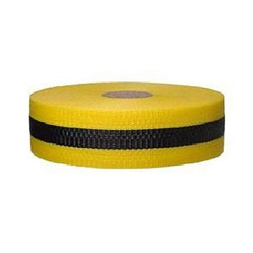Harris Industries WB-2-49 Barricade Tape, DANGER, 2 in W x 200 ft L, Solid Red/Black, Woven Plastic