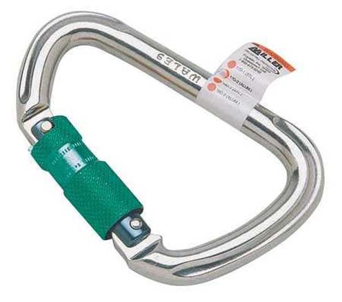 Miller® by Honeywell 17D-1/ Automatic Carabiner, 1 in Snap, Forged Alloy Steel