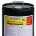 Wise Supply WS-ABMRLO5 Low Odor Mastic Remover, 5 gal Pail